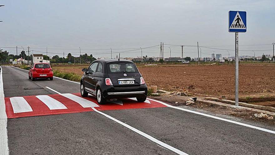 Comienzan las obras para reducir la velocidad en Carpesa y Benimàmet
