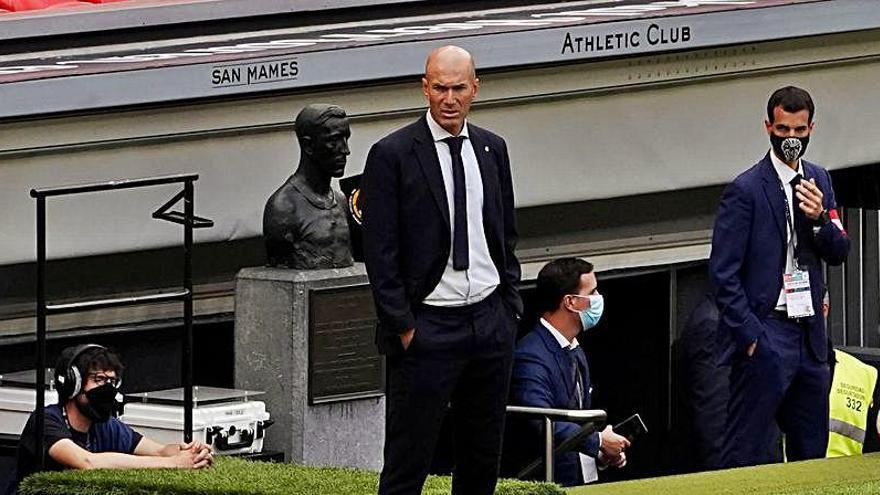 Zidane desvela por qué James no fue convocado