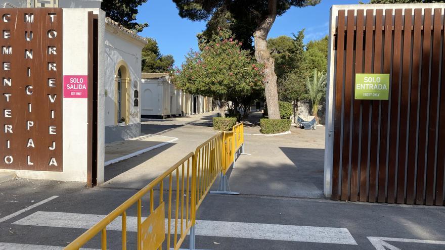 Aquí los horarios, información sobre refuerzo de transporte y medidas covid del cementerio de Torrevieja