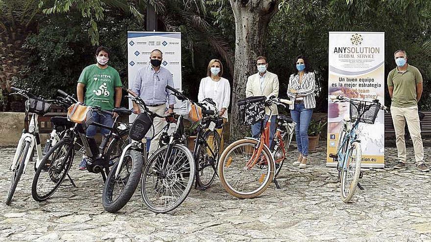 Préstamo de bicicletas eléctricas en la UIB