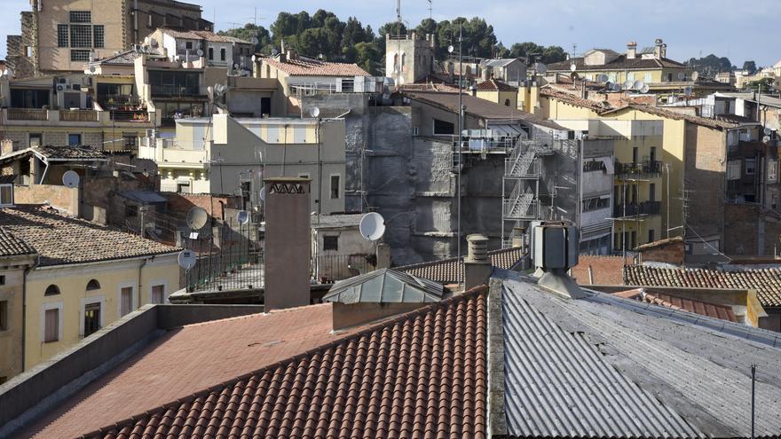 La majoria d'edificis del barri vell de Manresa no tenen ascensor