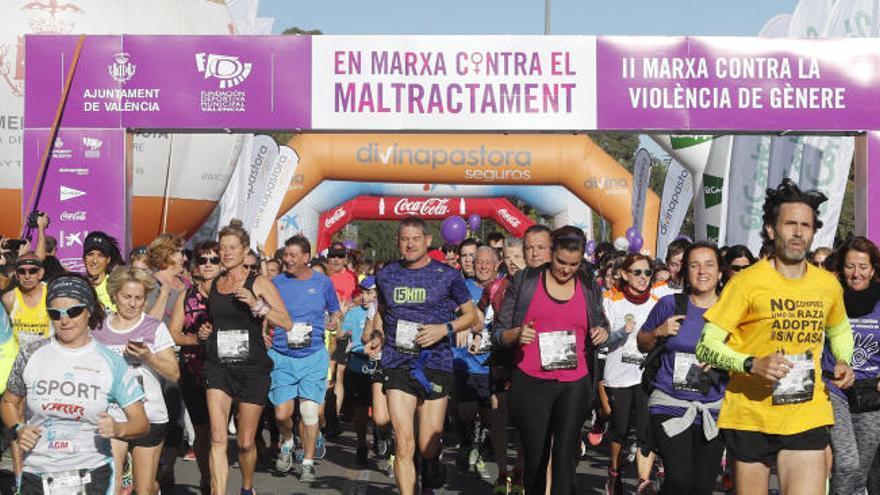 València se pone en marcha contra la violencia de género