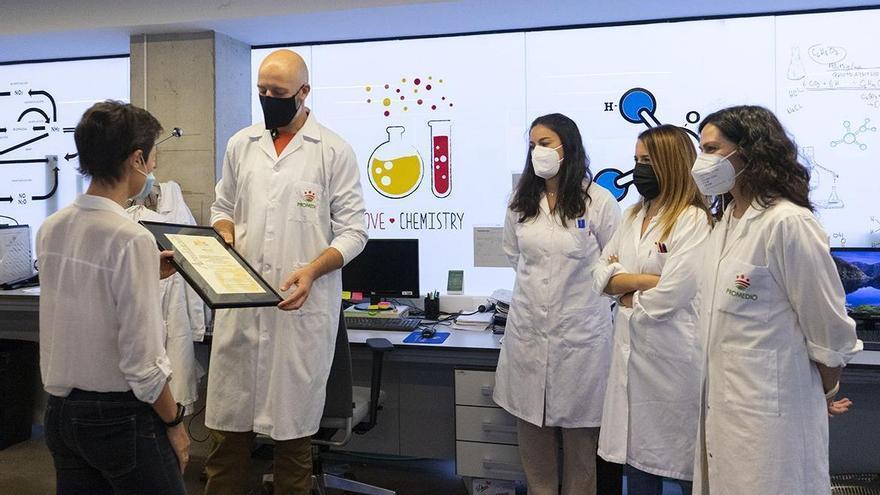 El laboratorio de Promedio renueva su acreditación internacional