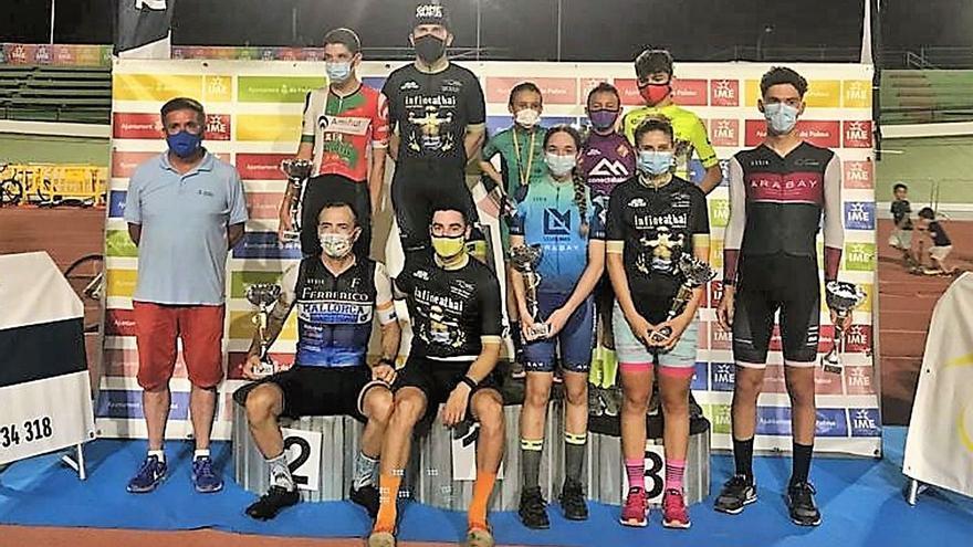 Llorenç Tomás gana la primera cita de las 'Nits de Ciclisme en pista a Son Moix'
