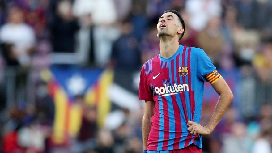 """Busquets, tras la derrota ante el Real Madrid: """"Fue demasiado castigo"""""""