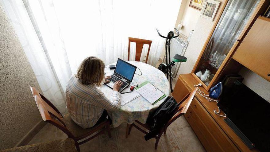 Las empresas de Zaragoza planean el fin del teletrabajo