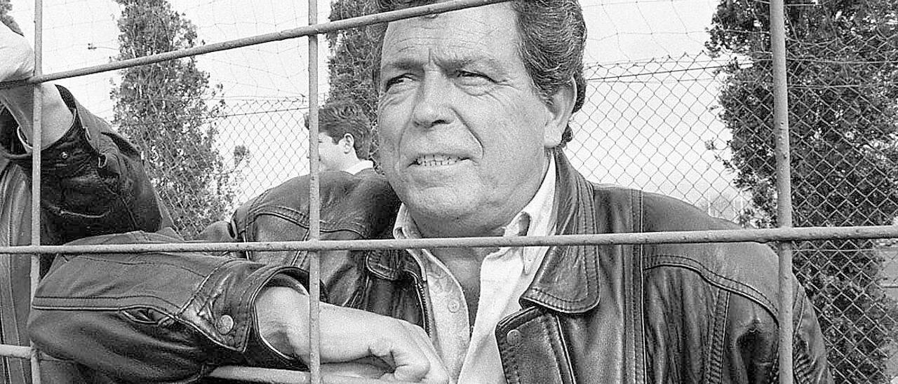 """José Fernández, """"El Negro"""", en Mareo."""