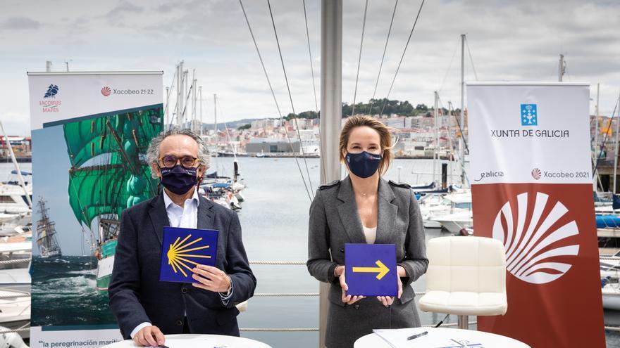 """La """"Iacobus Maris"""" trae a Vigo los grandes veleros en 2022"""