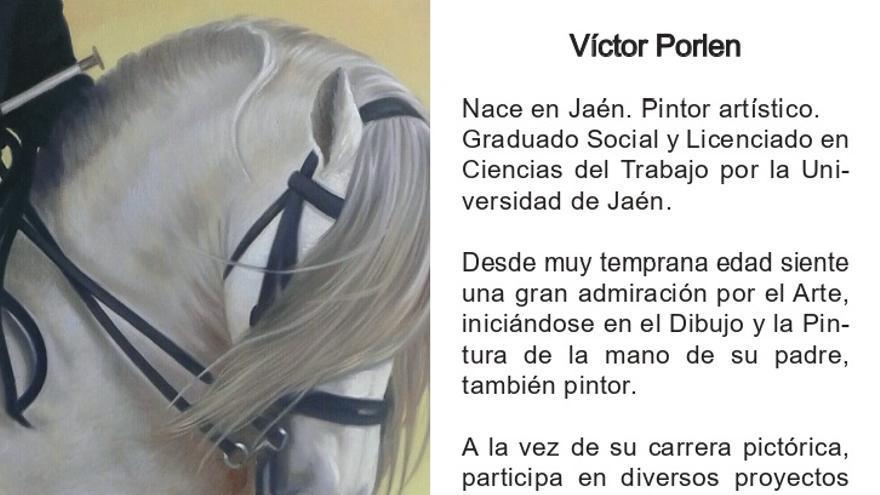 Exposición de pintura Víctor Porlen