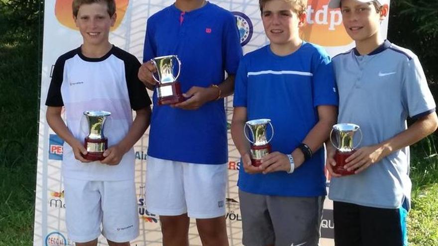 El cartagenero Rafael Segado, campeón de España de dobles