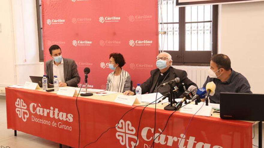 Càritas Diocesana de Girona atén 29.915 persones el 2020, un 21,8% més que el 2019