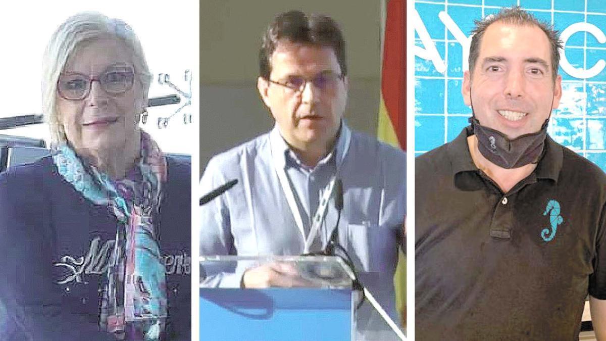 Concha Llop, Rubén D. Artero y Sergio Doménech, testigos del 11-S