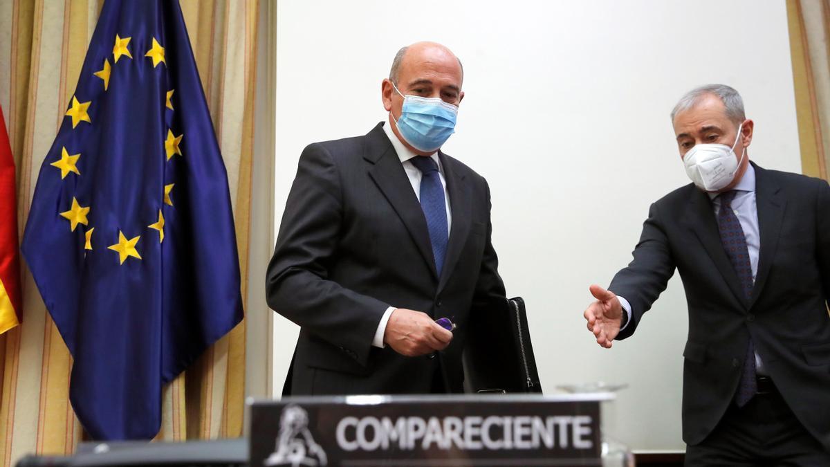 El coronel Diego Pérez de los Cobos comparece en el Congreso