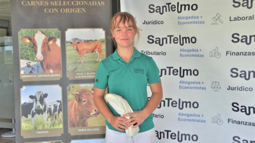Keira González, en 'scratch', gana el Torneo Frimancha