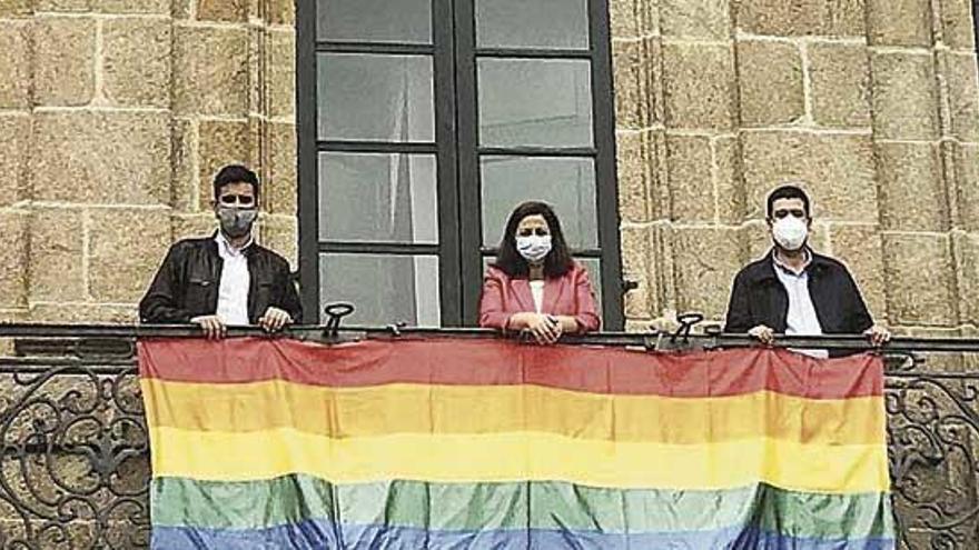 Orgullo LGTBI+ en Betanzos