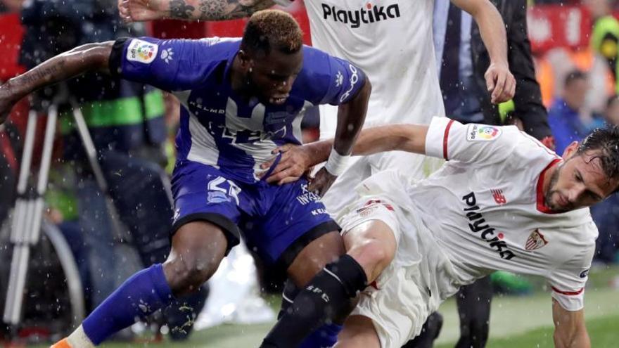 El Sevilla cierra un año irregular con triunfo