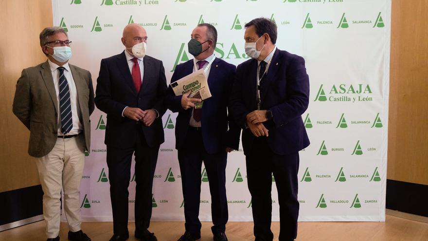 Respaldo unánime a Donaciano Dujo en Zamora para renovar como presidente regional de Asaja