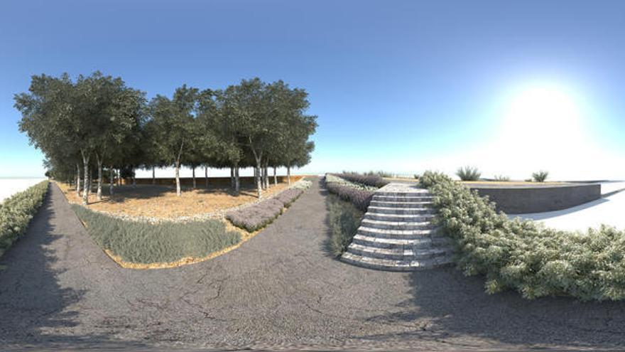 El Jardín de la Alameda de Murcia, al estilo del londinense Hyde Park