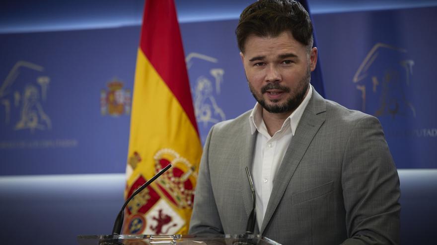 Rufián respon a JxCAT que ERC «no és la serventa de ningú»
