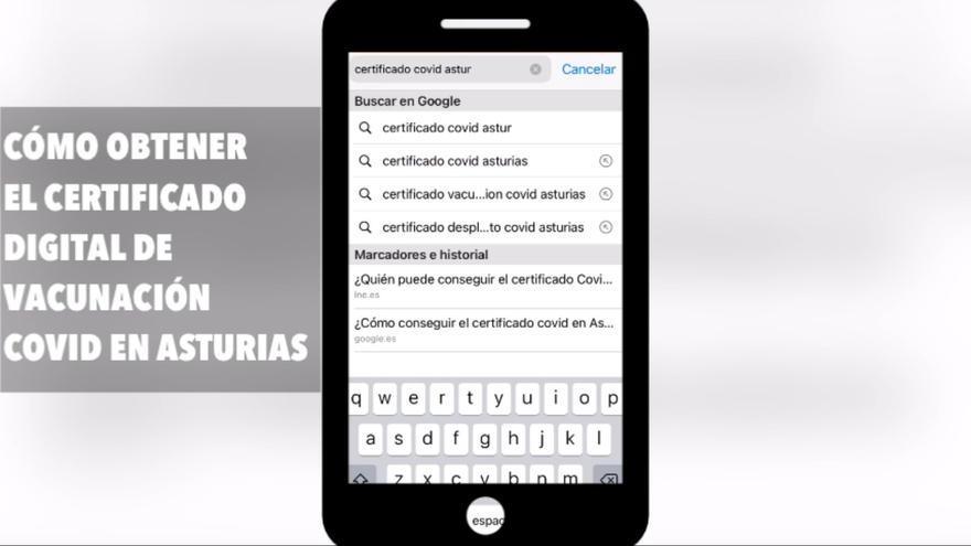 Te mostramos cómo conseguir el Certificado Digital de Vacunación Covid en Asturias