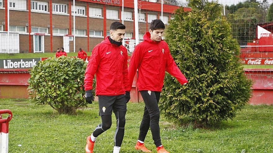 El Sporting sufre con Djurdjevic la estrategia aplicada con Sergio y Meré