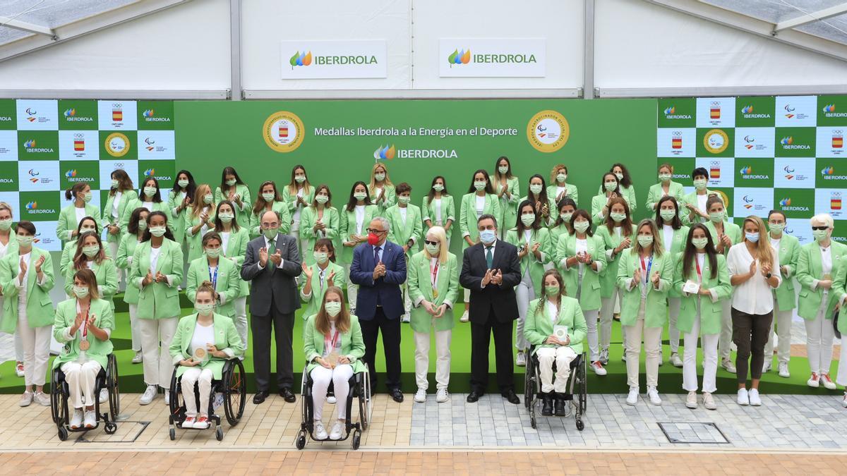 48 deportistas olímpicas y paralímpicas recibieron un homenaje de Iberdrola por su participación en Tokio 2020.