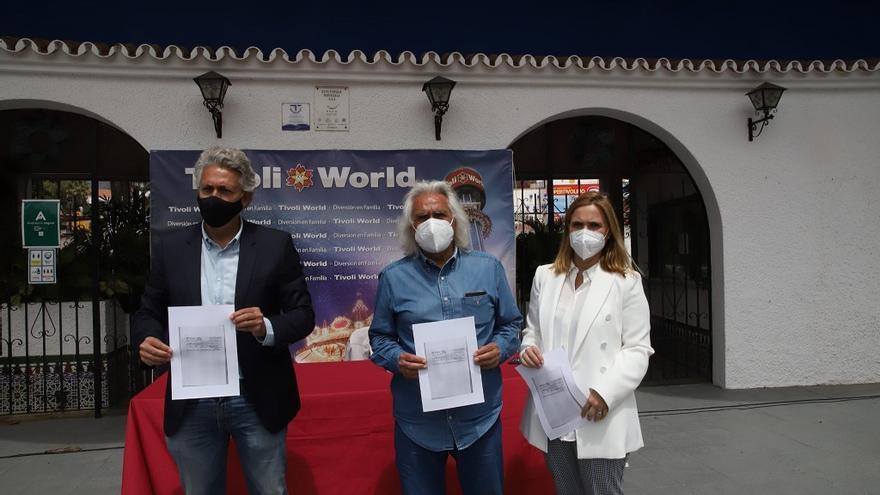 El empresario Rafael Gómez exige la apertura de Tivoli World mientras se resuelve el litigio sobre su propiedad