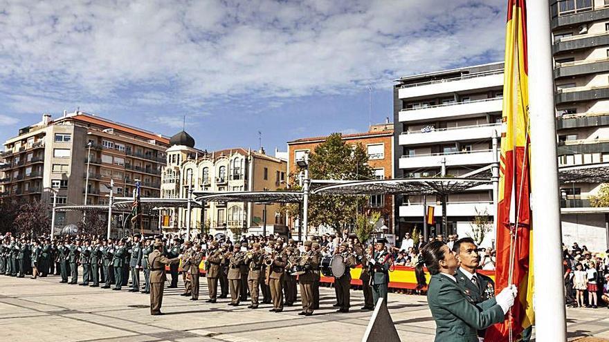 Zamora vive hoy una insólita celebración del día de La Hispanidad