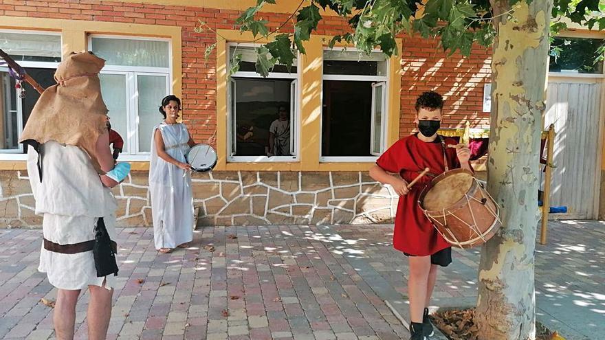 Día de astures y romanos en el municipio de Santibáñez de Vidriales