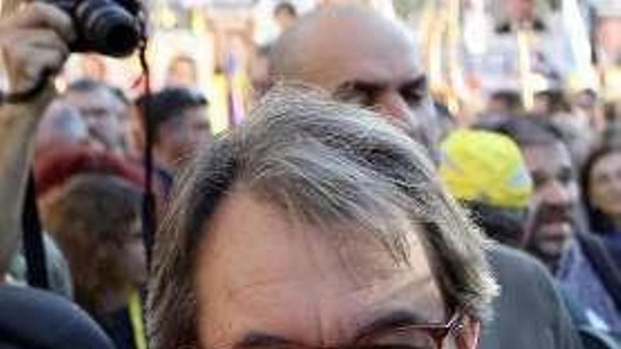 Mas no descarta ser de nuevo candidato a presidir la Generalitat