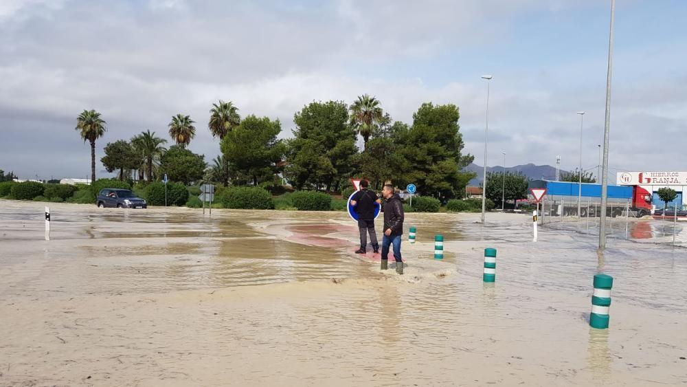 El río se desborda