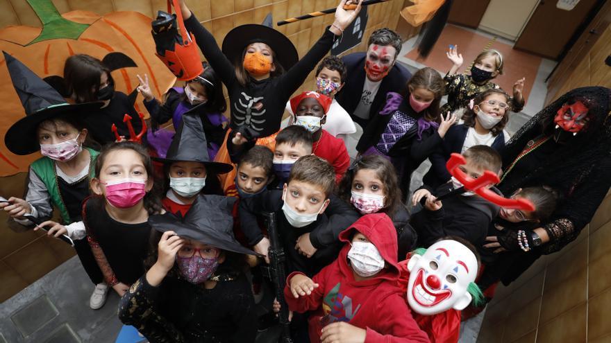 Así se ha celebrado Halloween en los colegios de Asturias