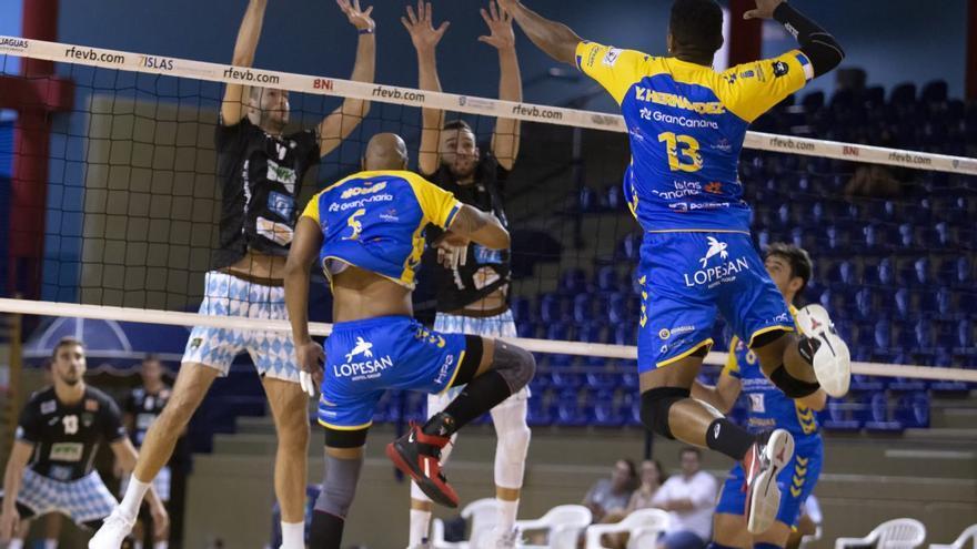 El CV Guaguas suma su segunda derrota seguida en El Tablero