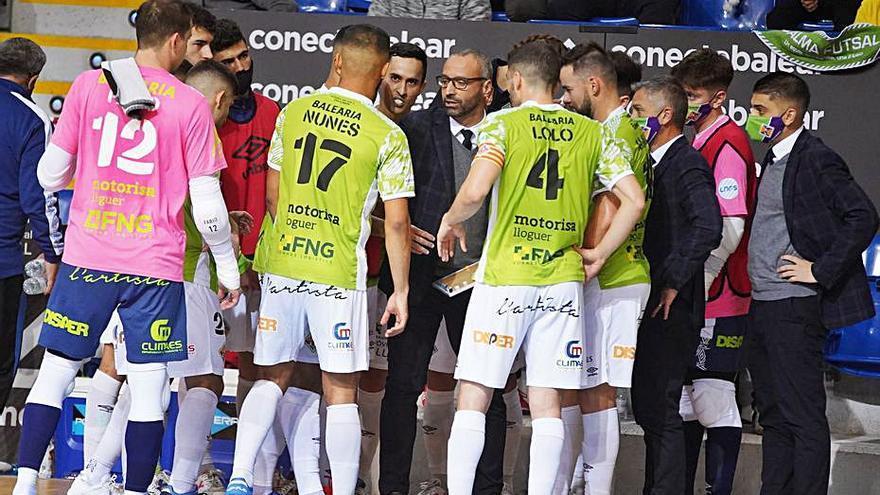 El Palma Futsal pierde fiabilidad