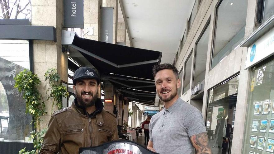 Jon Martínez y Sean Pendry competirán por el título balear del peso ligero