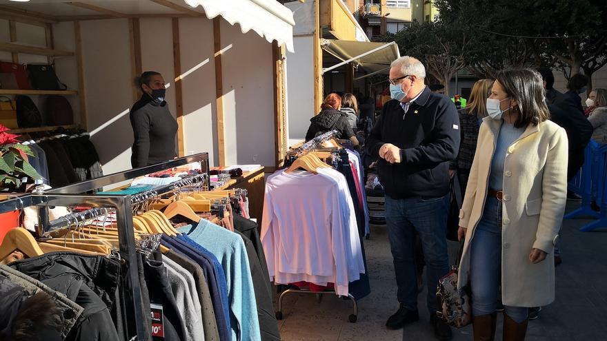 Almassora crea una feria en Santa Quitèria para ayudar al comercio
