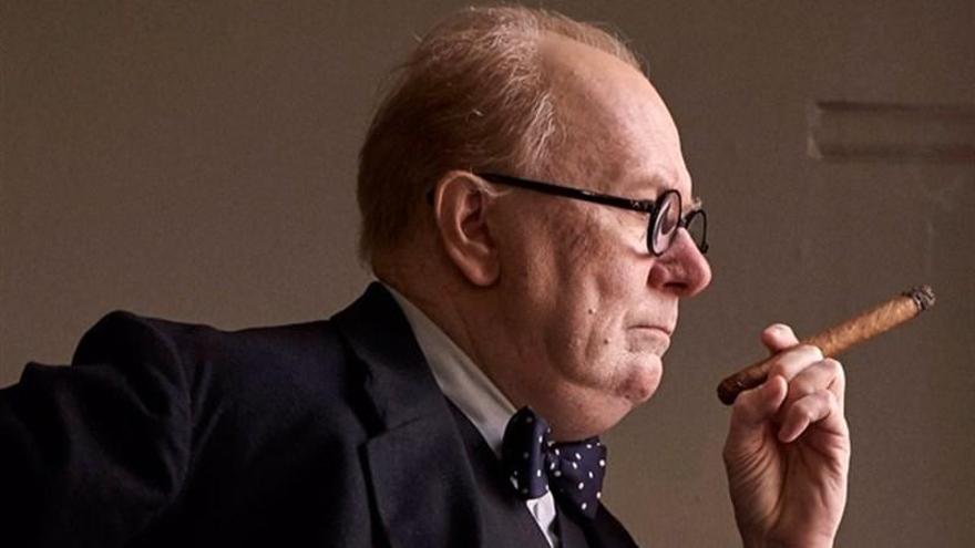 Gary Oldman se convierte en Winston Churchill