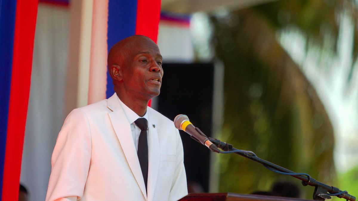 El presidente haitiano Moise.
