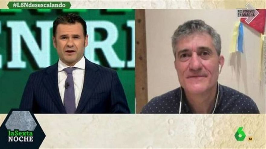 """Guillermo Fesser en 'laSexta Noche': """"Lo que ha hecho Ayuso es similar a lo que hizo Trump"""""""
