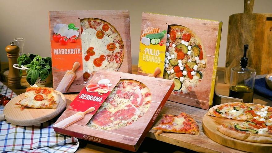 El secreto de las nuevas pizzas de Mercadona