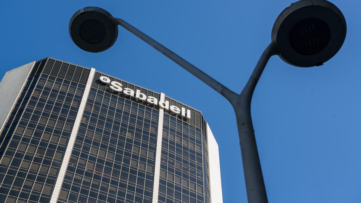Sede del Sabadell en Madrid.