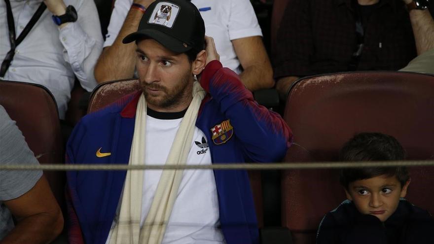 Messi y la influencia en la ausencia