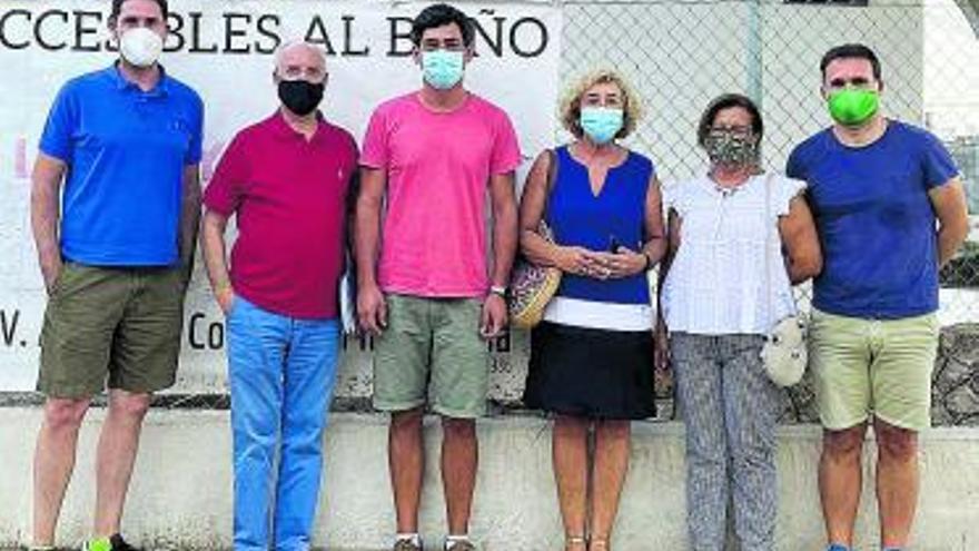 Almardà reclama soluciones  en limpieza, jardinería y playas