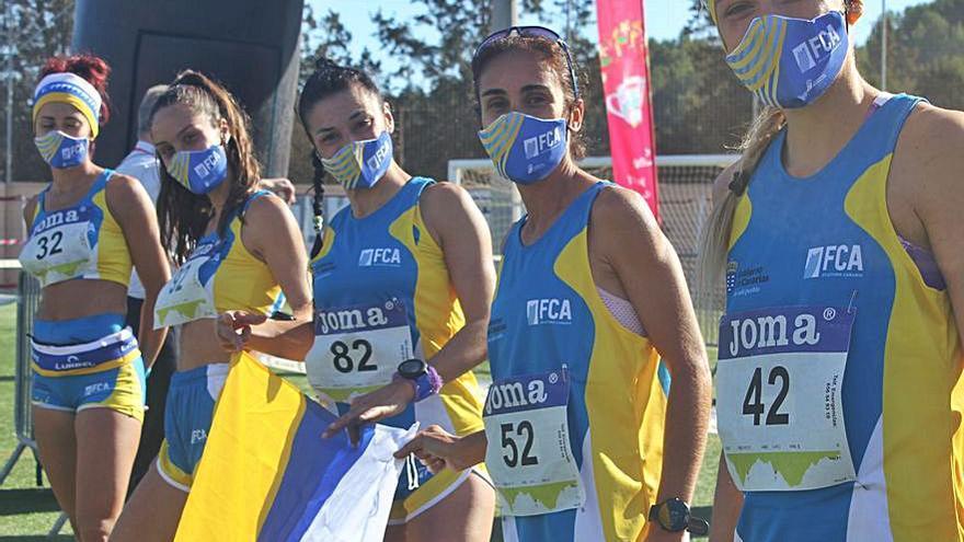 Canarias, subcampeona de España absoluta en femenino