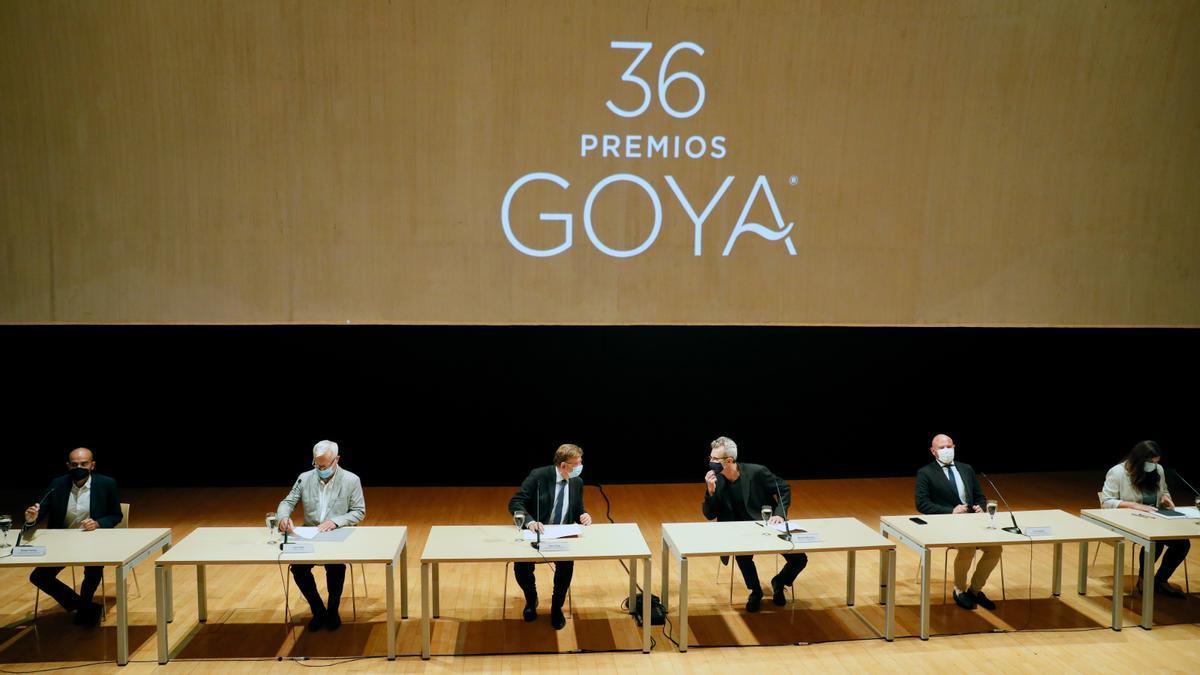 Los Goya tendrán varios presentadores y se reencontrarán con el público.