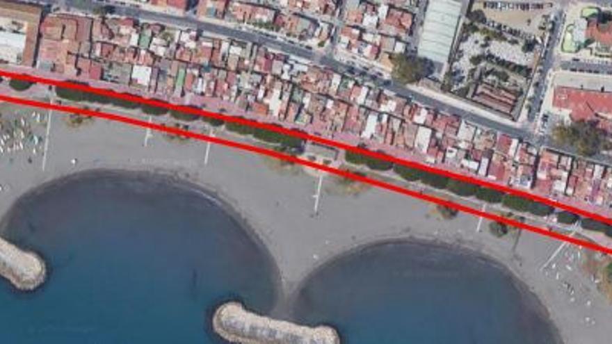Sacan a concurso las obras de reparación del Paseo Marítimo del Palo