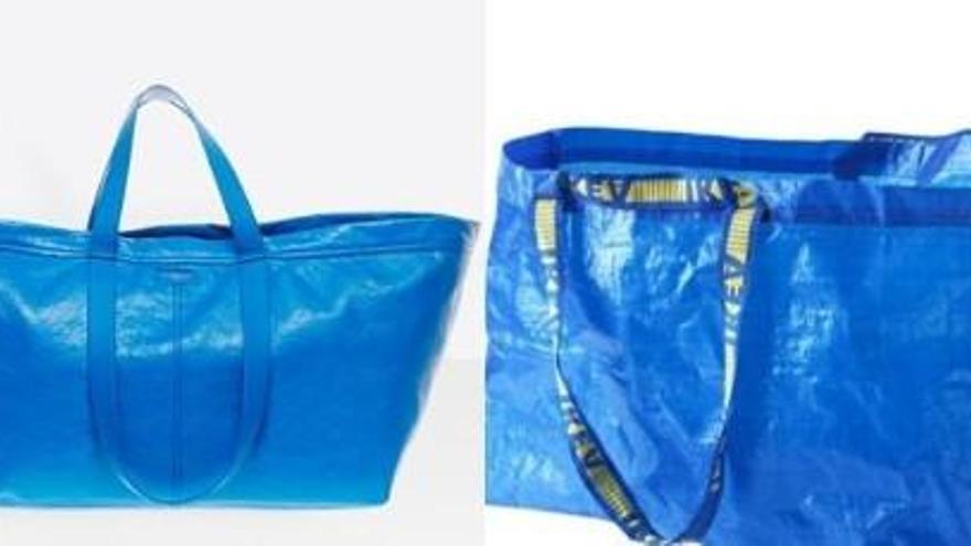 La versió de la bossa d'IKEA de Balenciaga costa 1.700 euros