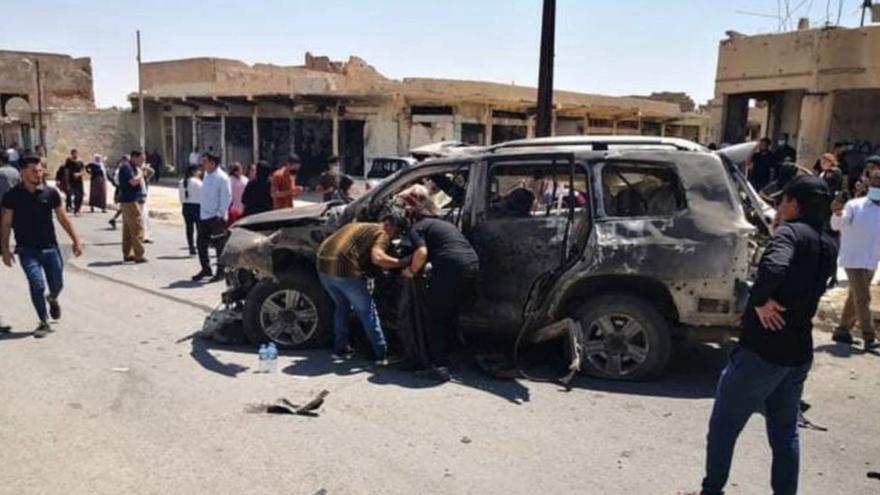 Decenas de víctimas tras el bombardeo de un hospital kurdo en Irak