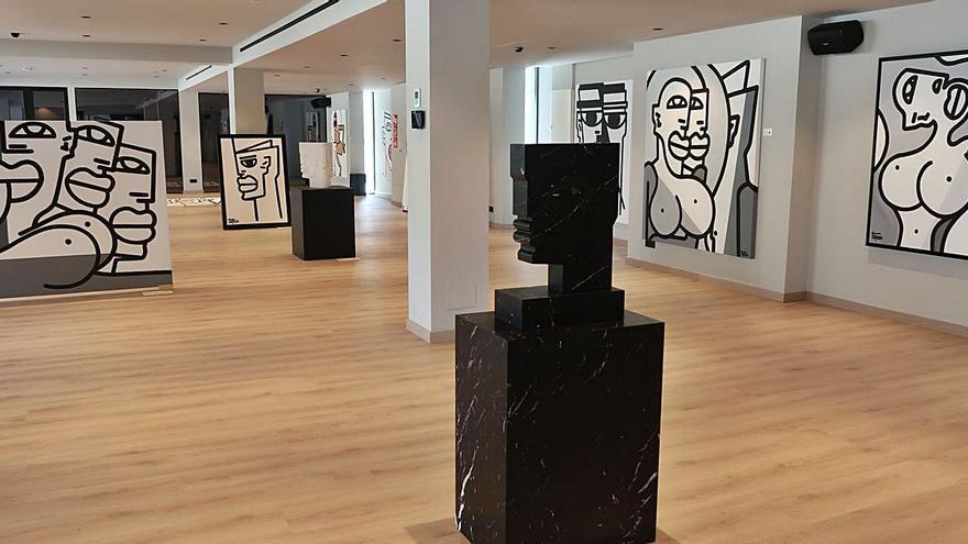 """Steve Tepas, pintor y escultor: """"El poder del arte radica en la simplicidad, es un valor seguro"""""""