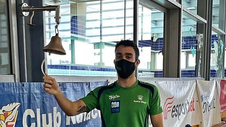 El nuevo éxito del nadador Sergio Vaquero: récord de España y plaza en el Europeo adaptado